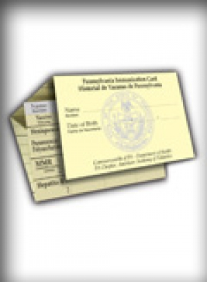 Pennsylvania Immunization Card